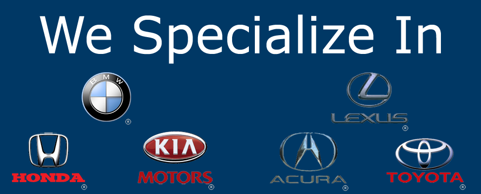 Mechanic in Murrieta that specializes in repairing Honda, Toyota, B.M.W, Lexus, KIA, Acura and is mobile for your convenience